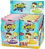 Set of 2 Assorted Smelli Gelli Baff - Bath Slime - Popcorn and Bubblegum