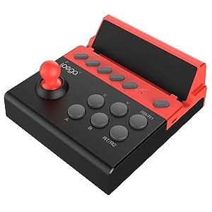 IPEGA PG-9135 Wireless4.0 Wireless Gamepad Trigger Pubg Controller Mobile Joystick Compatible Phone8/XR/XS iOS Compatible Android Mobile Phone Tablet