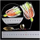 6-Fishing-Hard-Spinner-Lure-Spinnerbait-Pike-Bass-18g063oz-T11