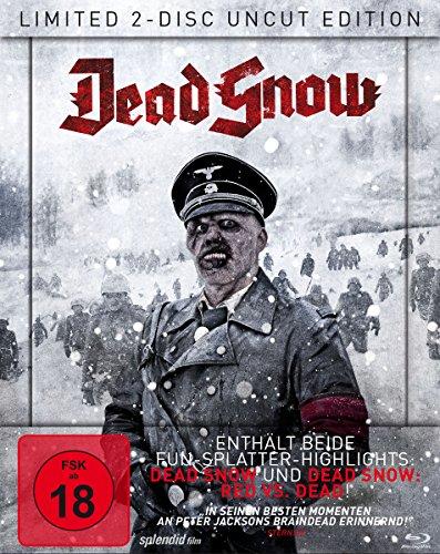DEAD SNOW 1 ET 2 STEELBOOK BLURAY AVEC LENTICULAIRE