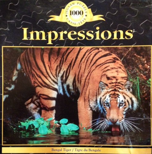 1000 Piece Impressions Bengal Tiger Jigsaw Puzzle