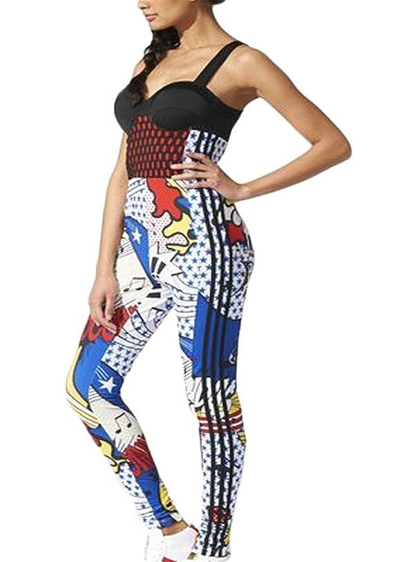 Adidas Originals Womens Rita Ora Super All-in-One Multicolor