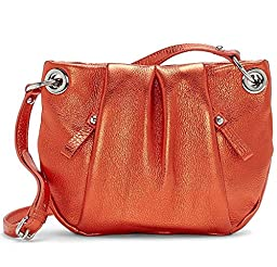 Vince Camuto Cris Crossbody Leather Handbag Hot Coral