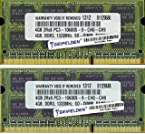 8GB (2X4GB) Memory RAM for Toshiba
