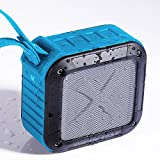 Evershop Portable Outdoor Bluetooth Speaker,Shower Waterproof Wireless Speaker with 10 hours Battery Life for iphone 7,7 plus,6s,6s plus,Galaxy Note 7(Blue)