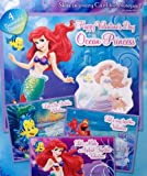 Disney Little Mermaid Valentines with 16 Notepads