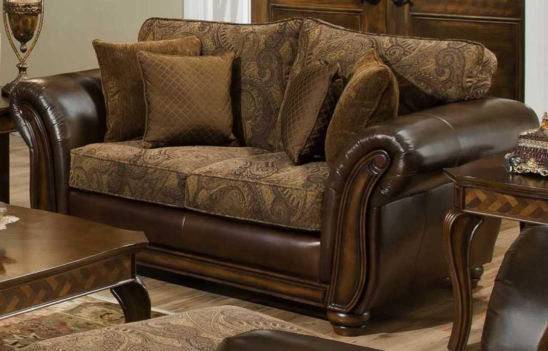 Simmons Upholstery Zephyr Loveseat 8104- Aspen