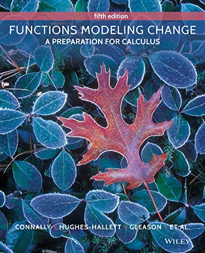 functions-modeling-change-a-preparation-for-calculus-5th-edition