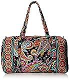 Vera Bradley Large Duffle Bag, Parisian Paisley, One Size