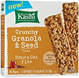 Kashi Crunchy Oat Flax Bar, Honey, 7 Ounce