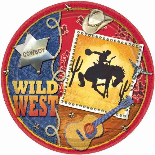 Wild Wild West Dinner Plates