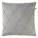 Olandese Decor nareen Cuscino, lana, colore: grigio chiaro, 45x 45cm