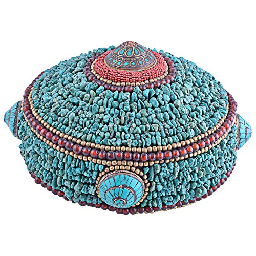 Smoky Turquoise Chips Caphat \/Cap