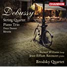 Debussy: String Quartet/ Piano Trio (Chandos: CHAN 10717)