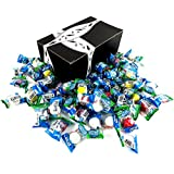 Vidal Soccer Balls Bubble Gum, 0.3 oz Packets in a BlackTie Box (Pack of 60)