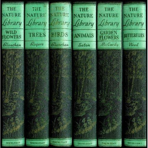 Library Six Volume Collection: Butterflies, Garden Flowers, Wild