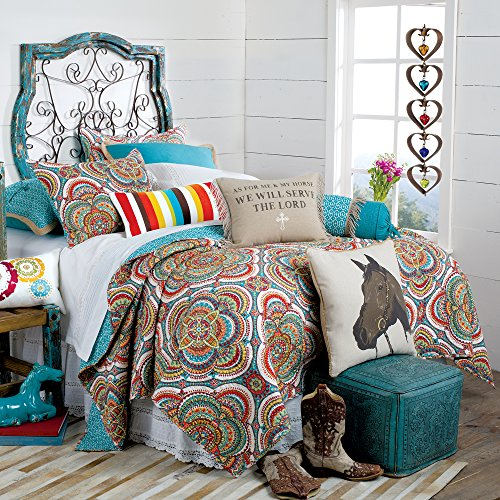 As For Me and My Horse Quilt, Twin (Twin Horse Quilt compare prices)