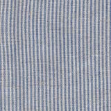 【綿麻/先染生地】約1mm幅ブルー系ストライプ 4色あります 1m単位で切り売りいたします