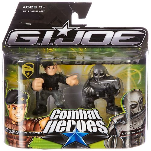 G.I. Joe The Rise of Cobra Combat Heroes 2-Pack General Clayton Hawk Abernathy and Cobra Viper