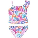 Carter's Little Girls Floral 2pc Tankini Swimsuit (5)
