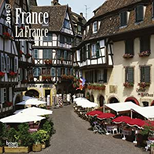 France/La France (English/French) - 2014 Calendar