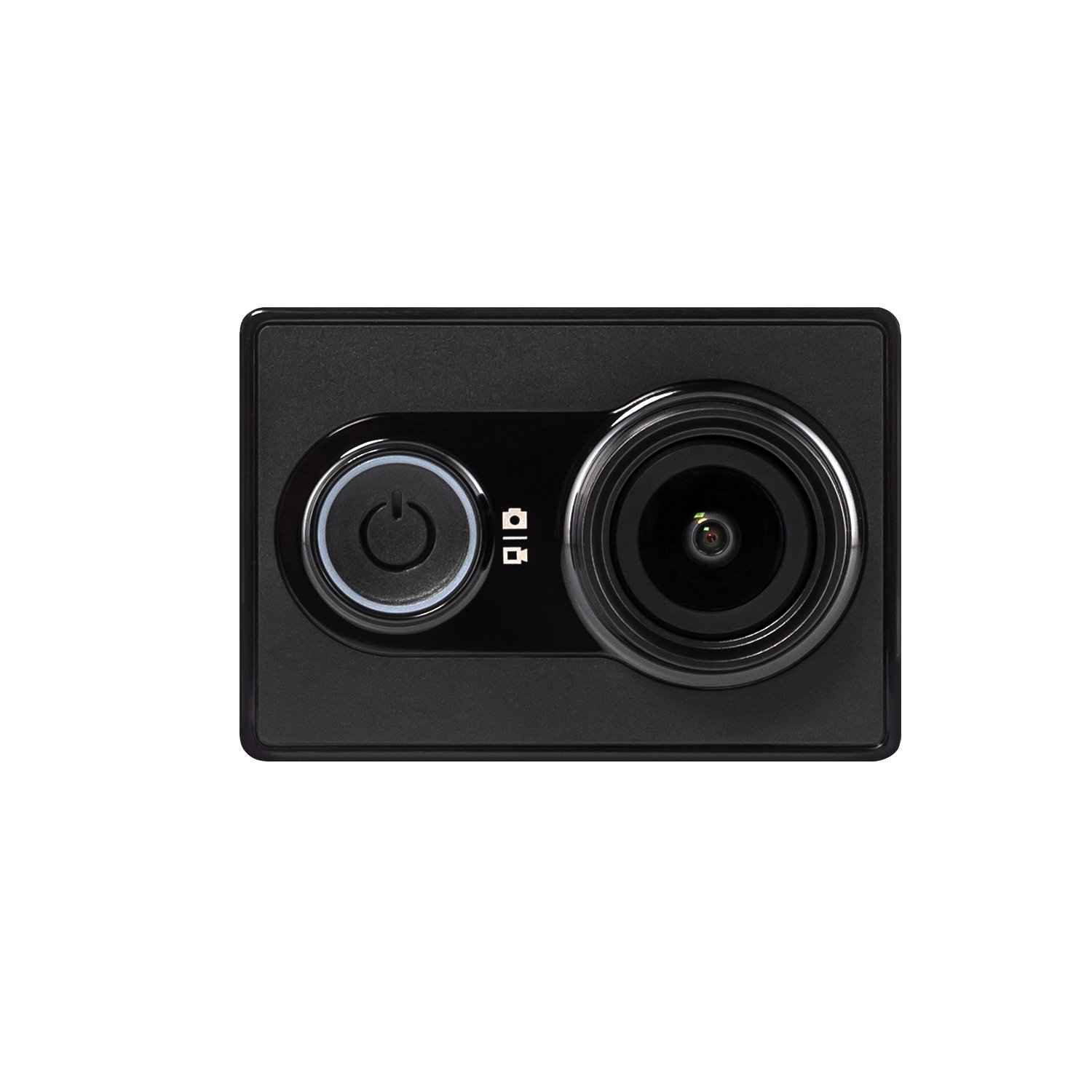 YI® Action Camera Black (Official U.S. Edition) - Sports Camera, 16MP Sony Sensor, High-Resolution, 2Kp30, 1080p60 HD video, 155° Wide angle Lens, Ambarella A7LS Processor, Wi-Fi Bluetooth