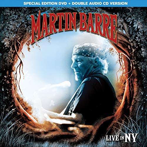 CD : MARTIN BARRE - Live In Nyc (3 Discos)