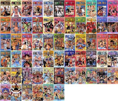 ONE PIECE オリジナルコミックカバー付 ジャンプコミックス全巻セット 【1~61巻】 ワンピース / 尾田栄一郎