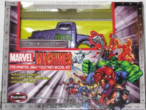 Marvel Machines Incredible Hulk's Street Stomper Model Kit - Buy Marvel Machines Incredible Hulk's Street Stomper Model Kit - Purchase Marvel Machines Incredible Hulk's Street Stomper Model Kit (Polar Lights, Toys & Games,Categories)