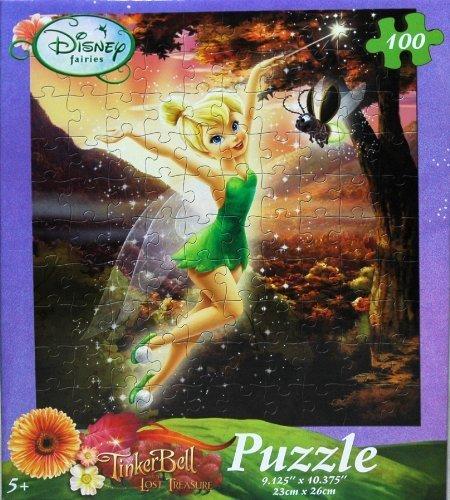 Disney Fairies Tinkerbell 100-Piece Jigsaw Puzzle (Autumn Magic) - 1