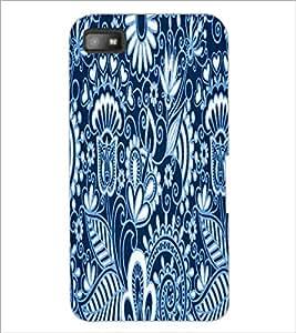 PrintDhaba Pattern D-3422 Back Case Cover for BLACKBERRY Z10 (Multi-Coloured)