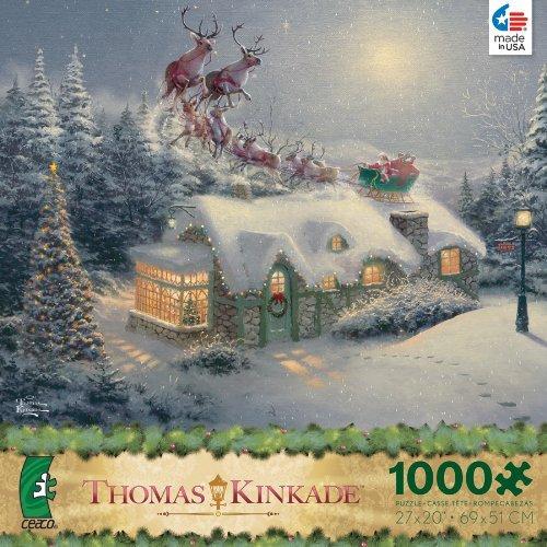 thomas kinkade christmas puzzle check price victorian christmas check ...