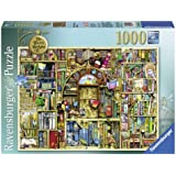 Ravensburger Colin Thompson - The Bizarre Bookshop 2, 1000 piece Puzzle