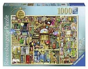 Ravensburger - 19314 - Puzzle Classique - Bibliothèque Bizarre - 1000 Pièces