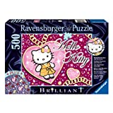 "Ravensburger 14921 - Funkelnde Hello Kitty - 500 Teile Brilliant Puzzlevon ""Ravensburger"""
