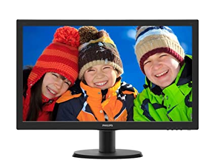 "Philips 233V5QHABP Ecran PC LCD 23"" (58,42 cm)  1920x1080 12milliseconds affichage 16:9"