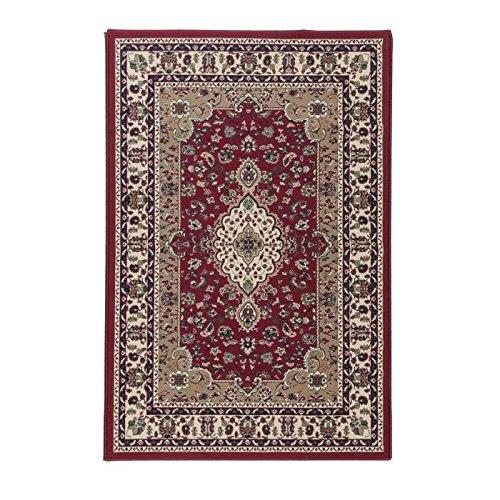 LUXUS Tapis de salon oriental 160x225 cm rouge