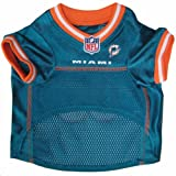 Pets First NFL Miami Dolphins Jersey, Small