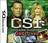 echange, troc CSI: Unsolved (Nintendo DS) [import anglais]