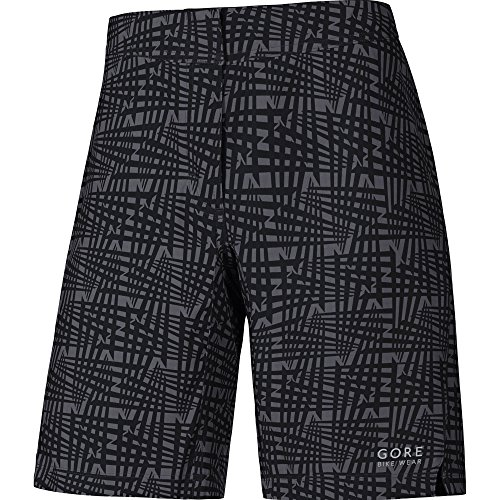 Gore Bike Wear Tslpel Element Lady Print Pantaloncini , Donna, Nero, 38