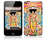 MusicSkins  iPod Touch 4 用液晶保護フィルム  Jimi Hendrix™ - Axis Bold As Love  iPod Touch 4  MSIP4G0448