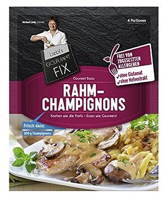 Gourmetfix Basis für Rahmchampignons - 24er Pack 96 Portionen von Gourmetfix - Gewürze Shop