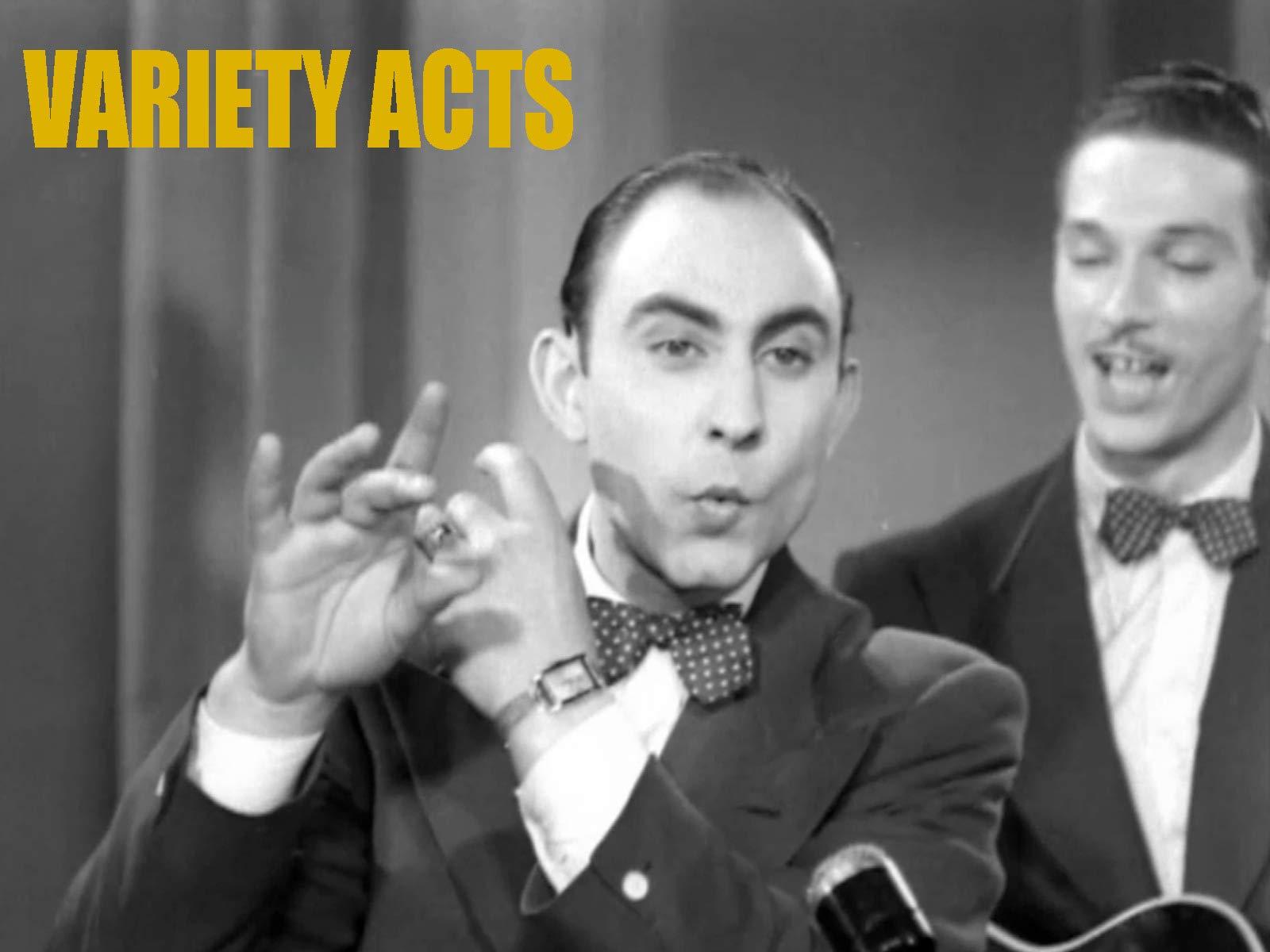 Variety Acts - Season 1