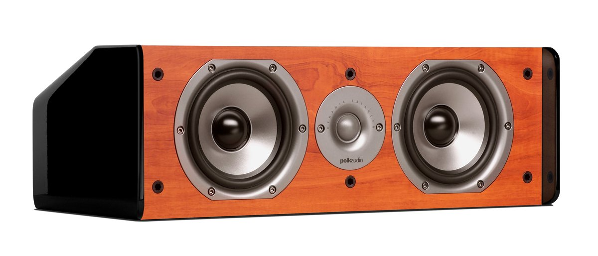 Polk Audio CS10 Center Channel Speaker (Single, Cherry)