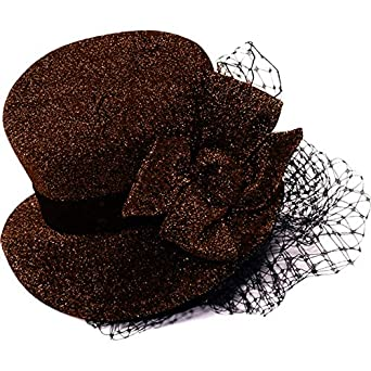 Steampunk Brown Headband Hat