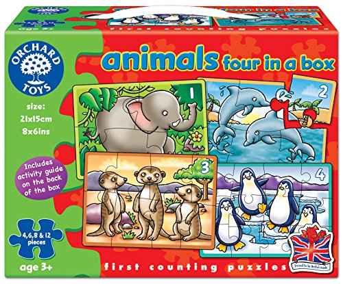 Animals Puzzle (4 Piece)