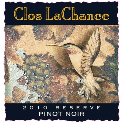 2010 Clos Lachance Reserve Santa Cruz Mountains Pinot Noir 750 Ml