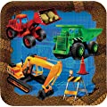 Trucks & Diggers Under Construction Party Plates x 8