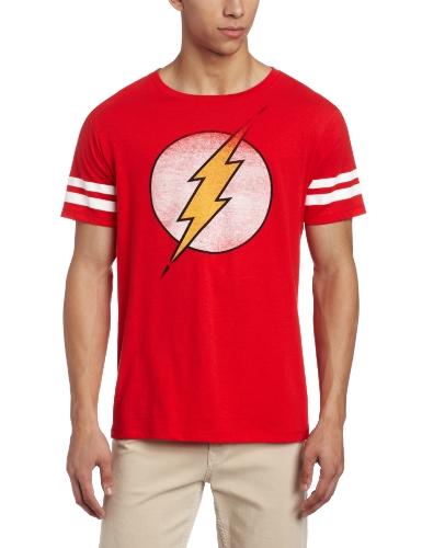 DC Comics Men's Flash Athletic Tee