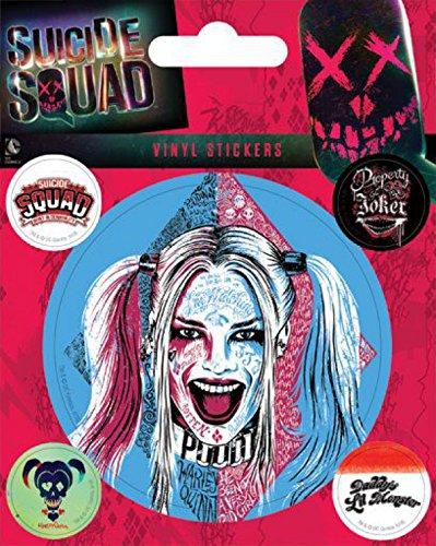 Suicide Squad - Harley Quinn Sticker Adesivo (12 x 10cm)